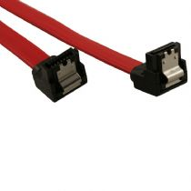 SATA2 7 Pin Dual Right Angle 45cm Data Cable